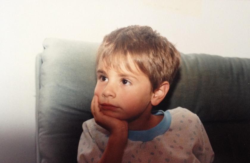 Moi, six ans.