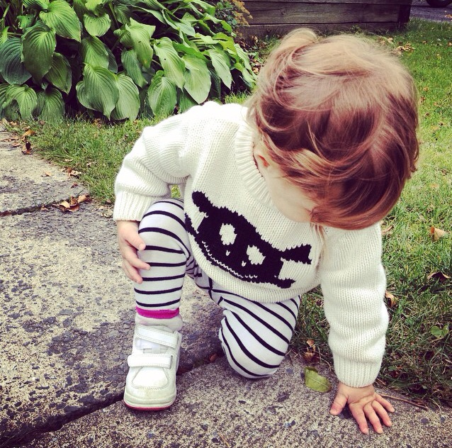 bébé fille rebelle