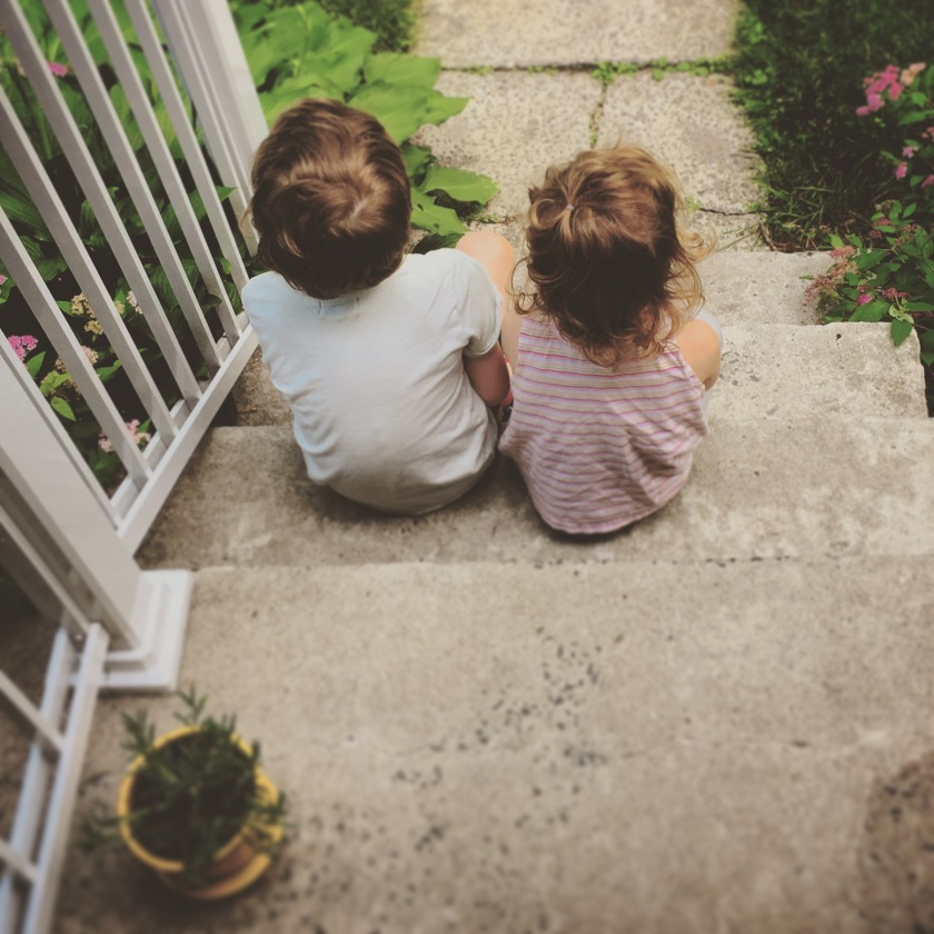 Henri et Martha sur le balcon